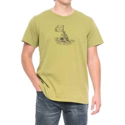 Fjallraven Keep Trekking T-Shirt - Organic Cotton, Short Sleeve (For Men) in Willow - Closeouts