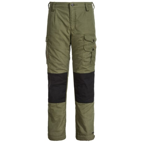 Fjallraven Kids Vidda Padded Pants (For Little and Big Boys) in Green