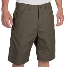 Fjallraven Kiruna Shorts - UPF 50+, Waxed Canvas (For Men) in Mountain Grey - Closeouts