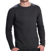Fjallraven Kiruna Sweater - Crew Neck (For Men) in Mountain Grey - Closeouts