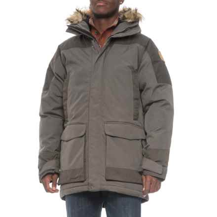Fjallraven Kyl Down Parka - 500 Fill Power, UPF 50+ (For Men) in Mountain Grey - Closeouts