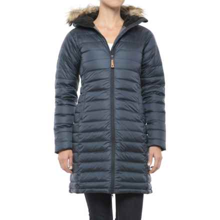 Fjallraven Ovik Down Parka - 700 Fill Power (For Women) in Dark Navy - Closeouts