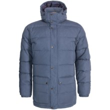 Fjallraven Ovik Down Parka - UPF 50+, Insulated (For Men) in Uncle Blue - Closeouts