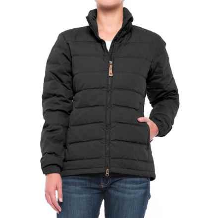 Fjallraven Ovik Lite Down Jacket (For Women) in Dark Navy - Closeouts