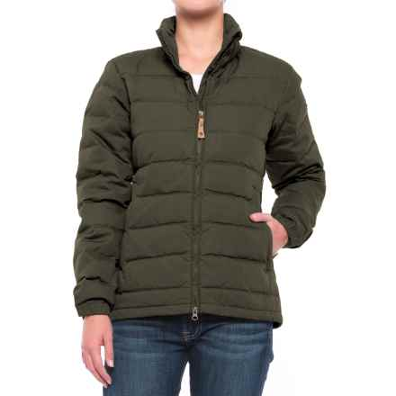 Fjallraven Ovik Lite Down Jacket (For Women) in Mountain Grey - Closeouts