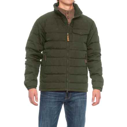 Fjallraven Ovik Lite Jacket - UPF 50+, Insulated (For Men) in New Moss - Closeouts