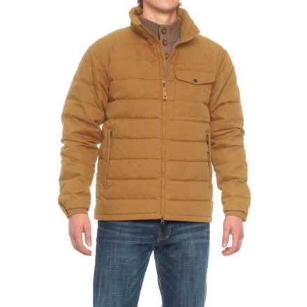 Fjallraven Ovik Lite Jacket - UPF 50+, Insulated (For Men) in Tobacco - Closeouts