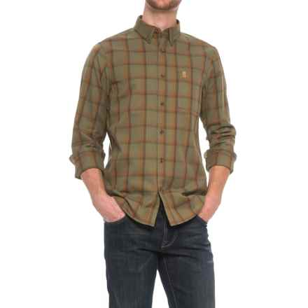 Fjallraven Ovik Shirt - Long Sleeve (For Men) in Green - Closeouts