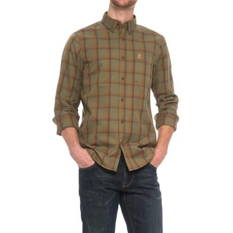 Fjallraven Ovik Shirt - Long Sleeve (For Men) in Green