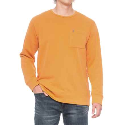 Fjallraven Ovik Sweater (For Men) in Campfire Yellow - Closeouts