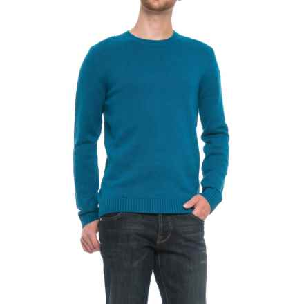 Fjallraven Ovik Sweater (For Men) in Lake Blue - Closeouts