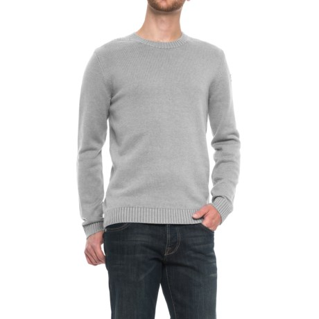Fjallraven Ovik Sweater (For Men) in Light Grey