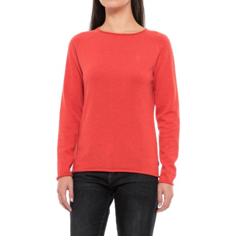 Fjallraven Ovik Sweater (For Women) in Coral