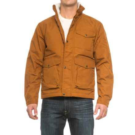 Fjallraven Ovik Winter Jacket - UPF 50+, Insulated (For Men) in Chestnut - Closeouts