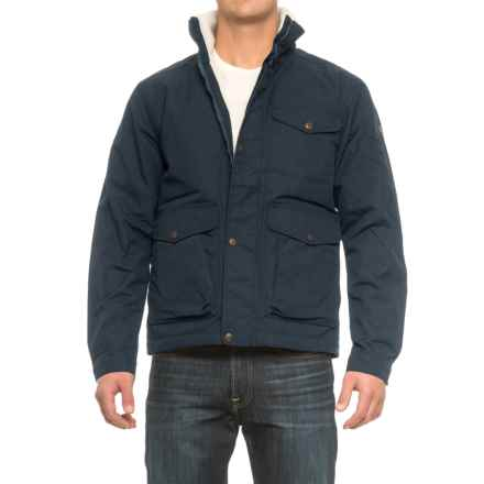 Fjallraven Ovik Winter Jacket - UPF 50+, Insulated (For Men) in Dark Navy - Closeouts