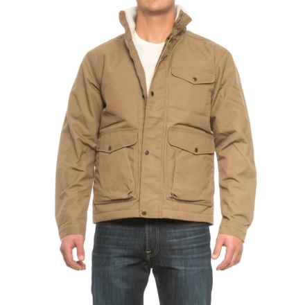 Fjallraven Ovik Winter Jacket - UPF 50+, Insulated (For Men) in Sand - Closeouts