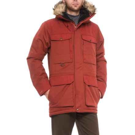 Fjallraven Polar Guide Parka - Waterproof, Insulated (For Men) in Deep Red - Closeouts
