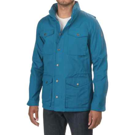 Fjallraven Raven Jacket (For Men) in Lake Blue - Closeouts