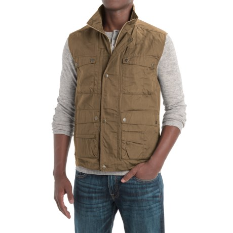 Fjallraven Reporter Lite Vest - UPF 50+ (For Men) in Sand