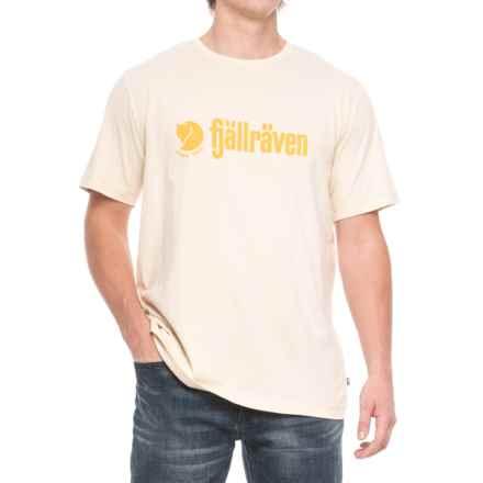 Fjallraven Retro T-Shirt - Organic Cotton, Short Sleeve (For Men) in Ecru - Closeouts