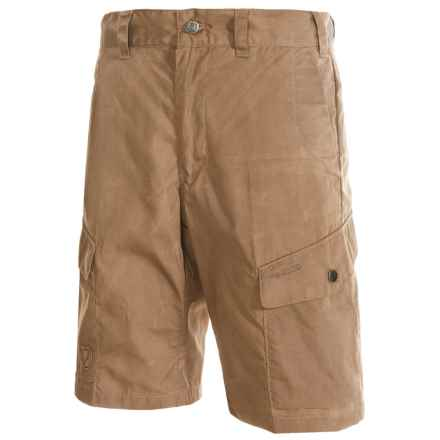 Fjallraven Ruaha Shorts - UPF 50+, Waxed Fabric (For Men) in Sand - Closeouts