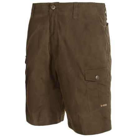 Fjallraven Sarek Hiking Shorts (For Men) in Dark Olive - Closeouts