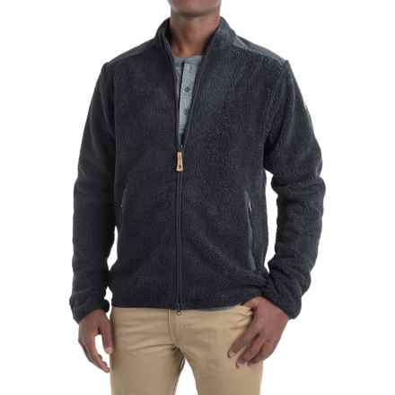 Fjallraven Sarek Sweater - Full Zip (For Men) in Dark Navy - Closeouts