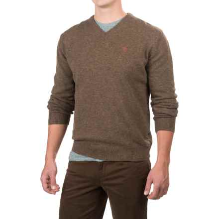 Fjallraven Shepparton Sweater - Wool, V-Neck (For Men) in Taupe - Closeouts