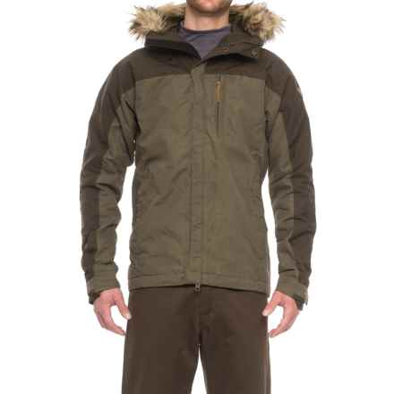 Fjallraven Singi Lined Jacket - Insulated (For Men) in Tarmac - Closeouts