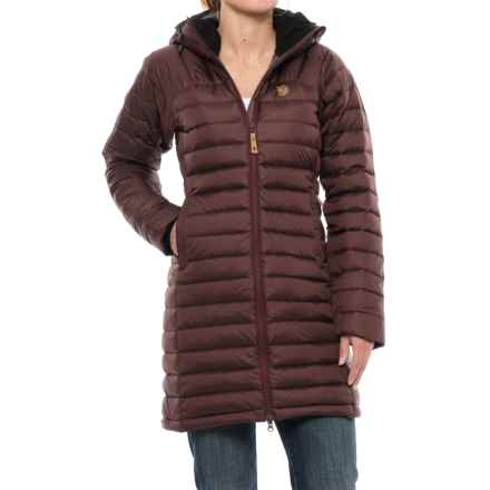 Fjallraven Snow Flake Parka - 700 Fill Power (For Women) in Burnt Red - Closeouts