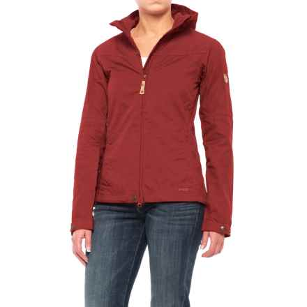 Fjallraven Stina Jacket - UPF 50+ (For Women) in Deep Red - Closeouts