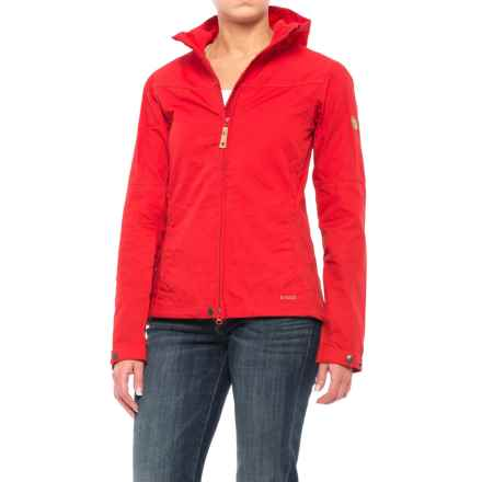 Fjallraven Stina Jacket - UPF 50+ (For Women) in Red - Closeouts