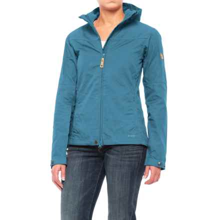 Fjallraven Stina Jacket - UPF 50+ (For Women) in Uncle Blue - Closeouts