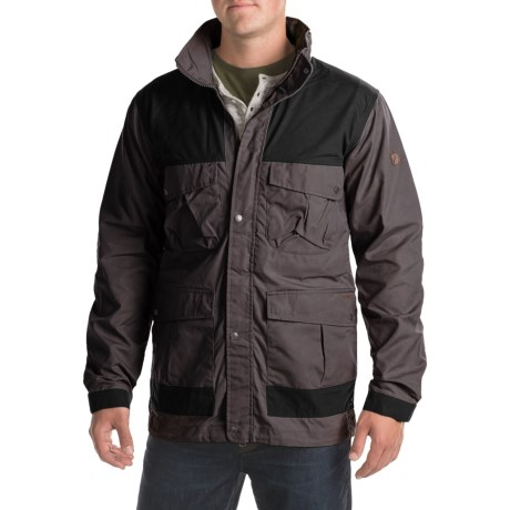Fjallraven Telemark Trekking Jacket (For Men) in Dark Grey
