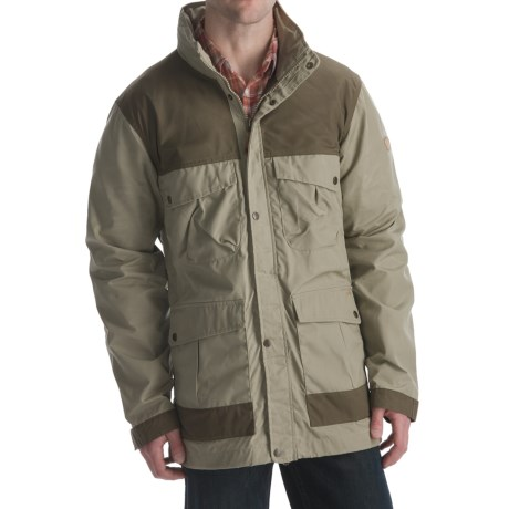 Fjallraven Telemark Trekking Jacket (For Men) in Light Khaki