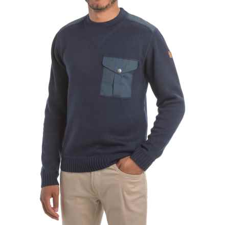 Fjallraven Torp Sweater - UPF 50+ (For Men) in Dark Navy - Closeouts
