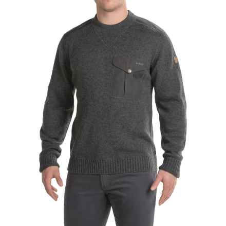 Fjallraven Torp Sweater - UPF 50+ (For Men) in Graphite - Closeouts