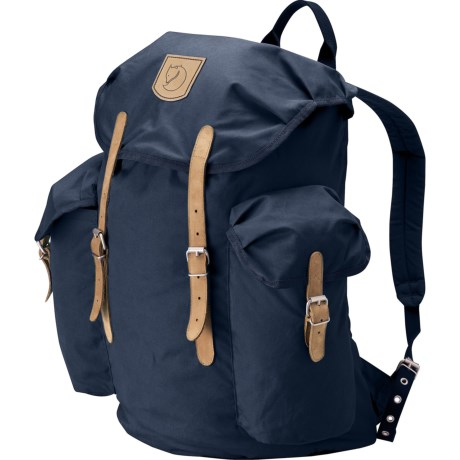 Fjallraven Vintage Backpack - 30L in Navy