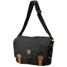 Fjallraven Vintage Shoulder Bag in Black - Closeouts