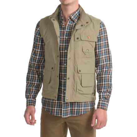 Fjallraven Wild Vest (For Men) in Light Khaki - Closeouts