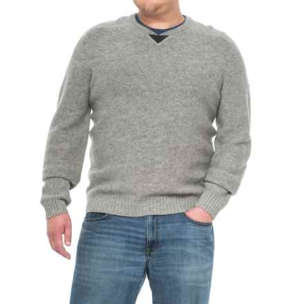 Fjallraven Woods Sweater - V-Neck For Men) in Grey - Closeouts