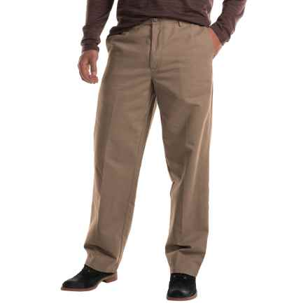 Flat-Front Chino Pants (For Men) in Tan - 2nds