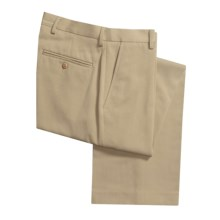 Flat-Front Dress Pants (For Men) in Deep Sand - 2nds