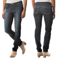 Flat-Front Jeans (For Women) in Medium Wash - 2nds