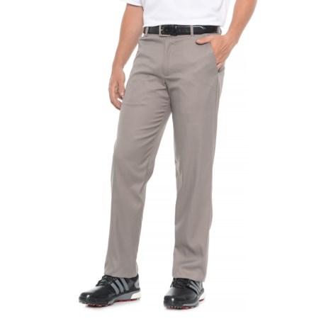Flat-Front Microfiber Pants (For Men)