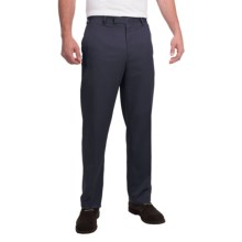 Flat-Front Pants (For Men) in Navy - Closeouts