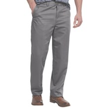 Flat-Front Pants - Straight Leg (For Men) in Grey - 2nds