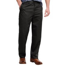 Flat-Front Pants - Straight Leg (For Men) in Navy - 2nds