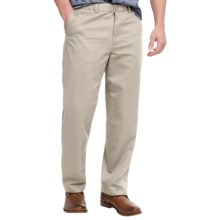 Flat-Front Pants - Straight Leg (For Men) in Stone - 2nds