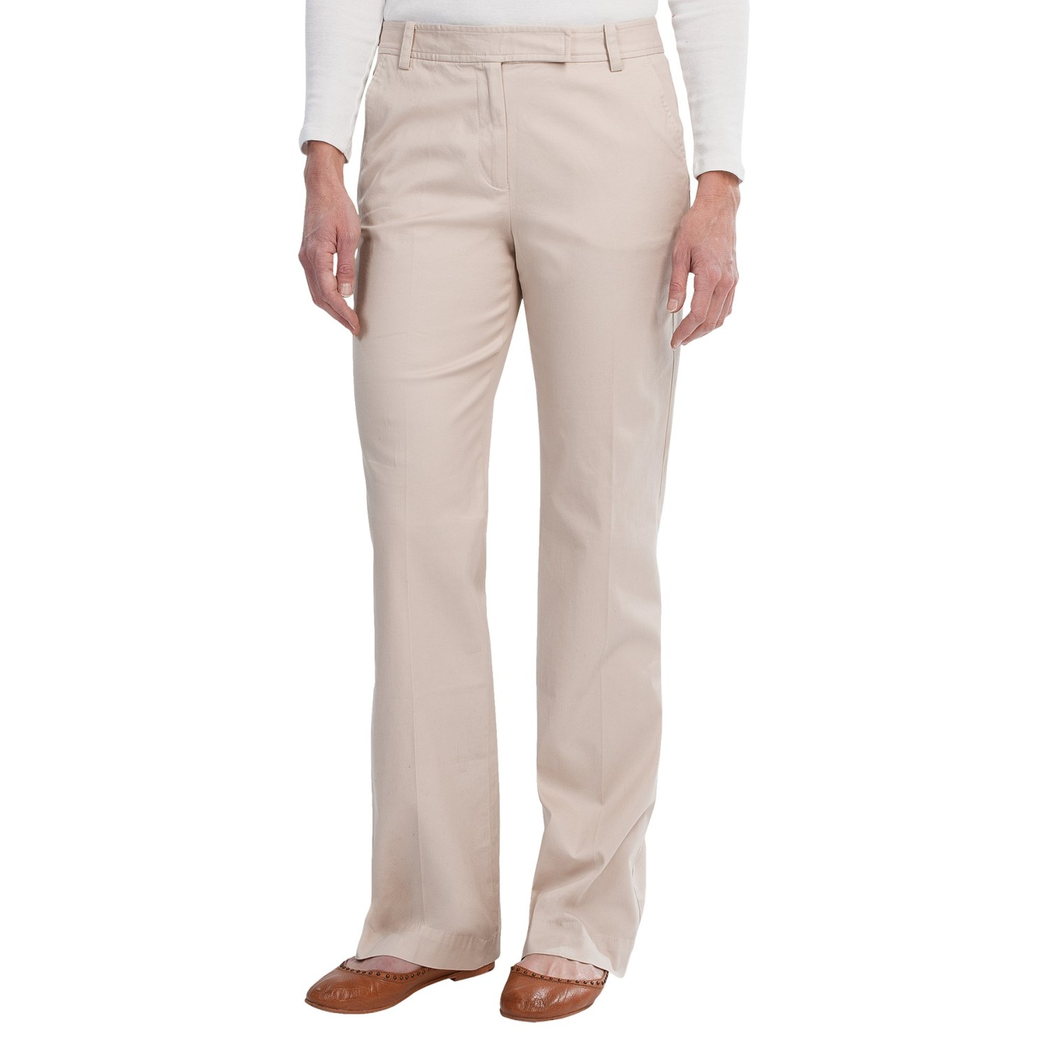 Awesome Michael Kors Womens Cotton WideLeg Pants  Womenchicc